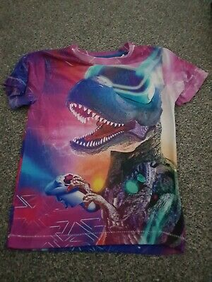 Bluezoo Debenhams Dinosaur Gaming Top • 3.50£