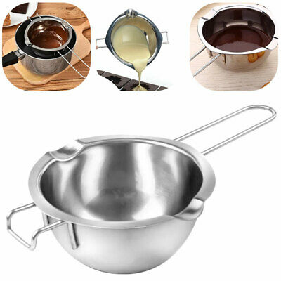 Stainless Steel Coffee Wax Melting Pot Boiler Wedding Scented Candle Making Tool • 7.32£