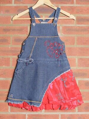 Marese Dungaree Dress Size 126 (8 Years)  • 5.40£