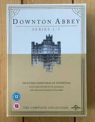Downton Abbey The Complete Collection Series 1-3 Includes Christmas At Downtown • 9.99£