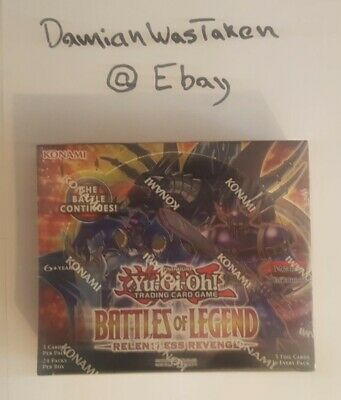 £110 • Buy YuGiOh! Battles Of Legend 1st Edition Booster Box - Factory Sealed
