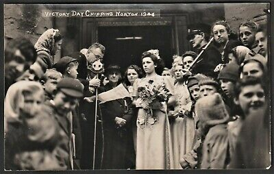 £12.95 • Buy CHIPPING NORTON Postcard-size Photo Victory Day 1946