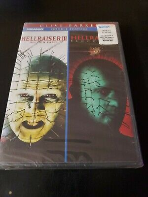 Hellraiser 3: Hell On Earth/Hellraiser 4: Bloodline (DVD, 2011, 2-Disc Set) (6A) • 11.34£