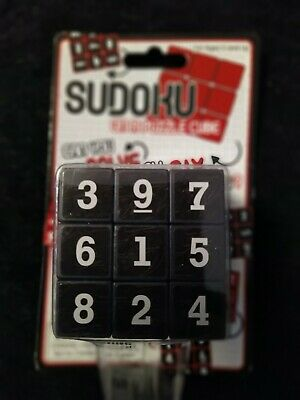 SUDOKU On A PUZZLE CUBE - NEW & SEALED • 3.99£