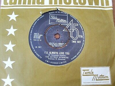Uk Tamla Tmg 627 - The Detroit Spinners - I'll Always Love You - Vg++ • 19.99£