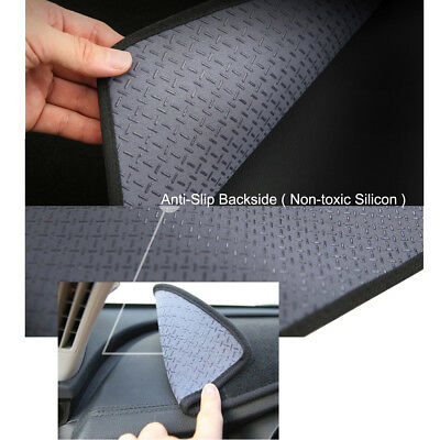 AU55 • Buy Anti-Slip Black Dash Mat Covers For 2018 ~ 2021 Ssangyong Musso & Musso XLV.