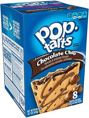 £9.50 • Buy Pop-Tarts Frosted Chocolate Chip 416g-3 PACK (Best By Date 12 MAY 2021)