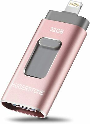 £12.99 • Buy Memory Stick For IPhone IPad, 64GB, 3-in-1 - HUGERSTONE