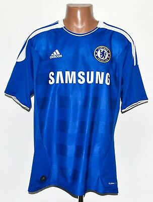 Chelsea 2011/2012 Home Football Shirt Jersey Adidas Size L Adult • 47.99£