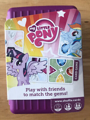 Shuffle Card Game - My Little Pony - With Free App - New • 3£