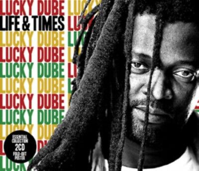 LUCKY DUBE Life & Times CD NEW & SEALED • 6.28£