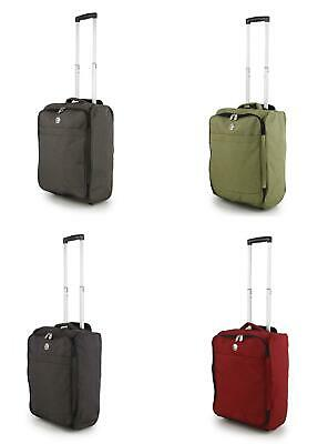 $ CDN35.41 • Buy 34L Cabin Bag Hang Luggage With Wheels Stow Away Trolley Case