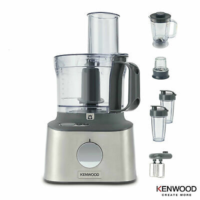 View Details Kenwood Multipro Compact Plus Food Processor Blender With Digital Scale • 129.99£