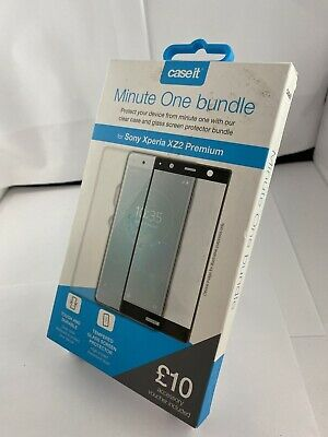 AU12.12 • Buy Minute One Sony Xperia XZ2 Premium Case And Screen Protector Bundle