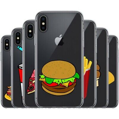 £7.20 • Buy Dessana Fast Food TPU Silicone Protective Cover Phone Case Cover For Apple