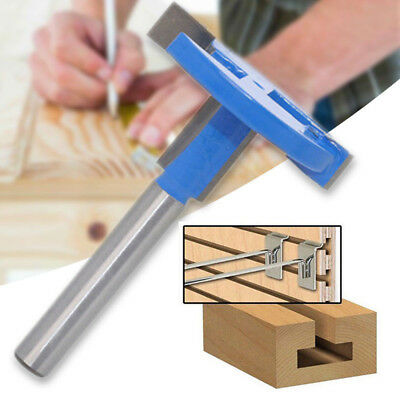 £4.96 • Buy 1/4'' Shank T Slot Router Bit T-Track Woodwork Milling Cutter Carbide Tool PAPA