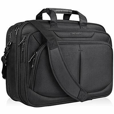 KROSER 17.1  Laptop Hand Bag For 17  Laptop Briefcase Water-Repellent Expandable • 30.16£