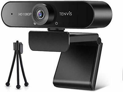£38.97 • Buy TENVIS 1080P FULL HD Webcam With 120° Wide Angle Streaming Camera, Microphone
