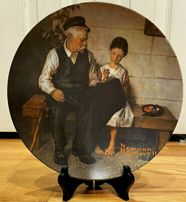 $ CDN37.66 • Buy Norman Rockwell The Lighthouse Keepers Daughter Collector Knowles Limited Plate
