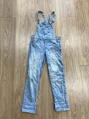 Girls Dungarees Age 10 -11 Years &Denim H&M Blue JG232 • 8.99£