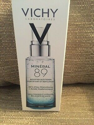 Vichy Mineral 89 Serum Face Moisturizer Hyaluronic Acid Booster 50ml BRAND NEW • 16.99£
