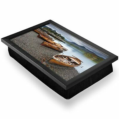 Deluxe Lap Tray - Keswick Lake District England Boats Home Gift #14249 • 34.99£