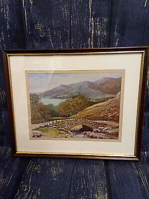 A Dennis Harper Framed Landscape Print Of Ashness Bridge Keswick Lake District • 9.99£