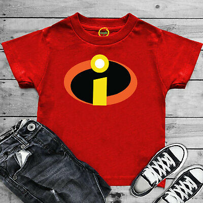 The Incredibles Superhero T Shirt Disney Pixar Funny Joke Birthday Gift Kids Top • 3.89£