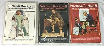 $ CDN119.26 • Buy Norman Rockwell & The Saturday Evening Post Early/middle/later Years ~ 3 Vol Set