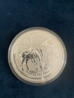 AU375 • Buy 5oz Silver Coin Year Of The Horse