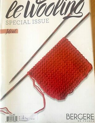 Bergere De France Le Wooling 10 Knitting Pattern Mag. For Ideal Yarn - DK • 2£