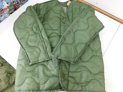 $18 • Buy New US MILITARY M65 FIELD JACKET COAT LINER   Quilted OD, Size X-Small XS  B5