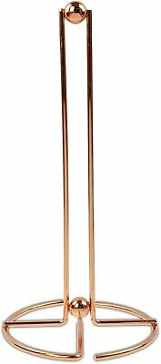£7.50 • Buy Apollo Copper Metal Shiny Kitchen Roll Paper Towel Holder Stand With Balls