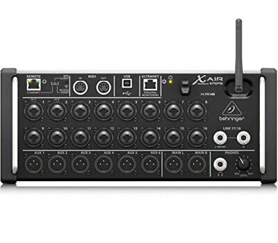 £490 • Buy Behringer X Air XR18 18-Input Digital Mixer For IPad/Android Tablet Brand New