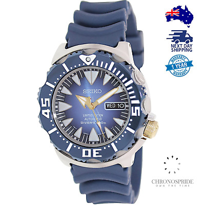 $ CDN1483.84 • Buy Seiko Monster Blue SRP455 Limited Edition RARE Automatic Mens Watch NEW