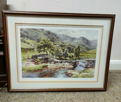 Judy Boyes Limited Edition 93/850 Lake District Print • 60£