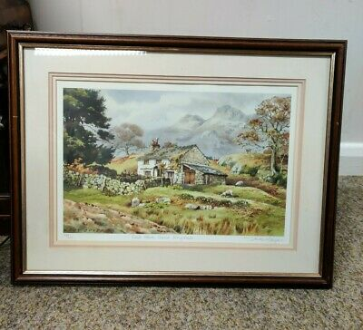 Judy Boyes Limited Edition 237/850 Lake District Print • 40£