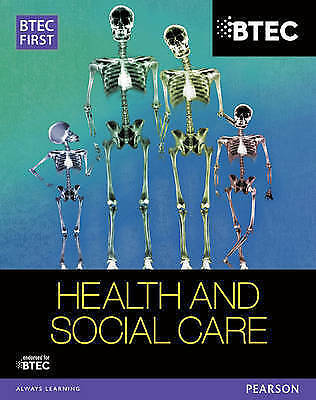 £8.50 • Buy BTEC First In Health And Social Care Student Book By Heather Higgins, Sian...
