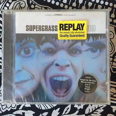 Supergrass - I Should Coco (1995) Replay Refurbished CD - SEALED • 2.99£