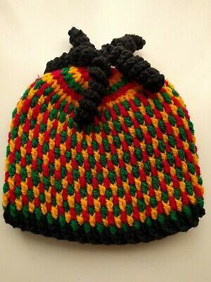 £12.99 • Buy Rasta Baby Hat. Warm. Curly Cues. Hand Crocheted. Unique. 3-9 Months