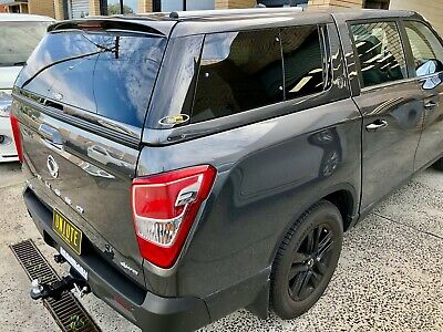 AU3500 • Buy ELYSIUM Canopy For SsangYong Musso (Short Tub) 2018-Current Marble Grey #ACM