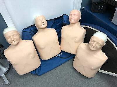 4x Laerdal Little Anne White Caucasian CPR EMT Nursing Adult Training Manikins • 271.34£