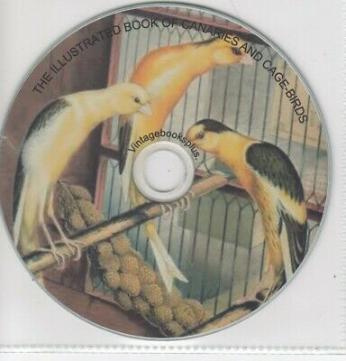 £5.95 • Buy Cage Birds British & Foreign Canaries,finches,parrots & Parrakeets 21 Books Dvd