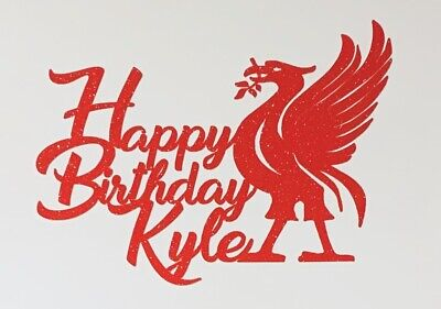 Personalised Liverpool FC Cake Topper • 3.49£