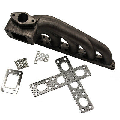 $94 • Buy T3 Flange Cast Iron Turbo Extractor Manifold For BMW E36 M50 M52 I6 1992-1998