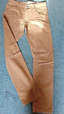 £16.50 • Buy Crosshatch  Tan Trousers Size 34 Long New Without Tags Great Fit