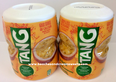 Two Tubs Of Tang Passion Fruit Drink Mix 510g Like Kool Aid American Import • 12.50£
