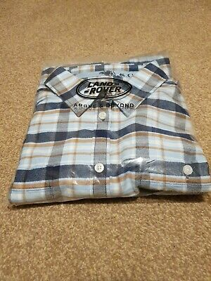 Womens Land Rover Heritage Shirt 51LBSL152BLM Size 16 • 30£