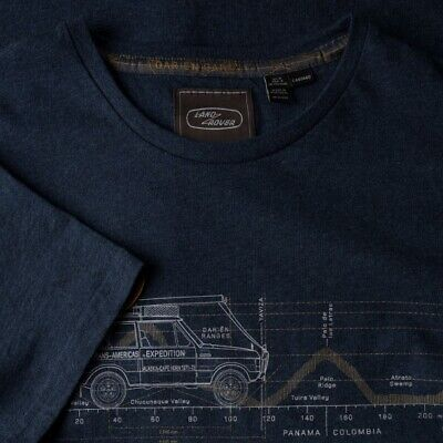 Genuine Land Rover Heritage Graphic Men's T-Shirt Navy Small - 51LDTM588NVC • 14.95£