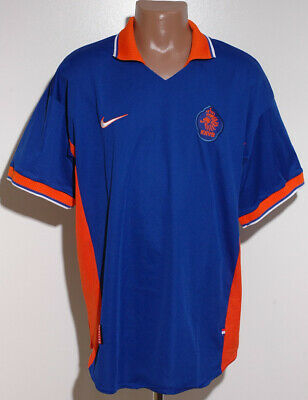 Holland 1996/1997/1998 Away Football Shirt Jersey Nike Size Xxl Adult • 79.99£